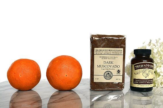 ingredients for grapefruit brulee