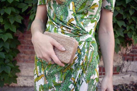 LK Bennett Natalie Clutch Close-Up