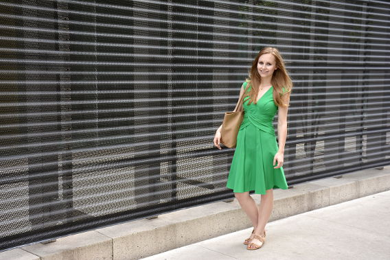 Issa London Green Dress