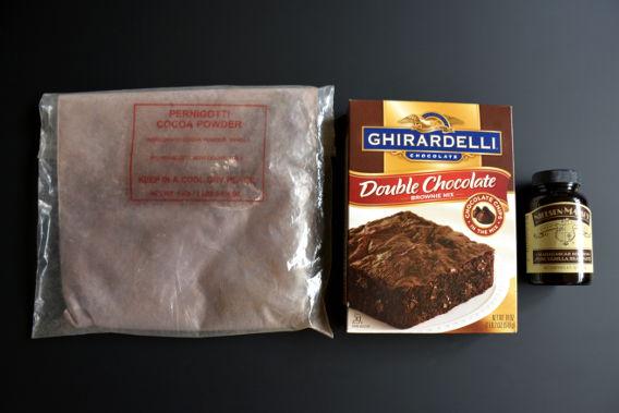 Sed Bona Gourmet Brownie Hack Ingredients