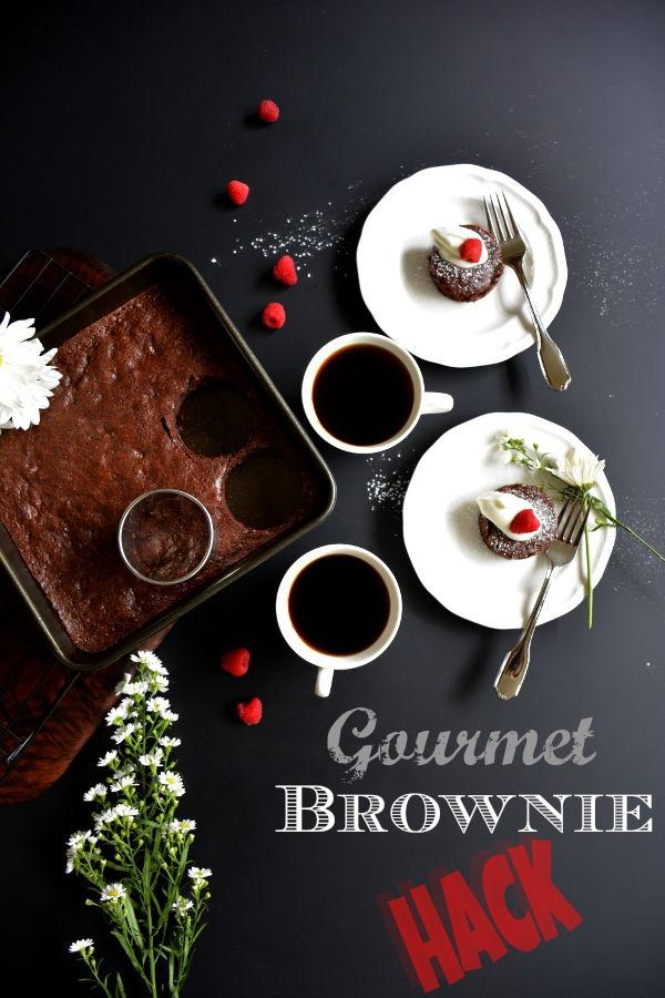 Gourmet Brownie Hack