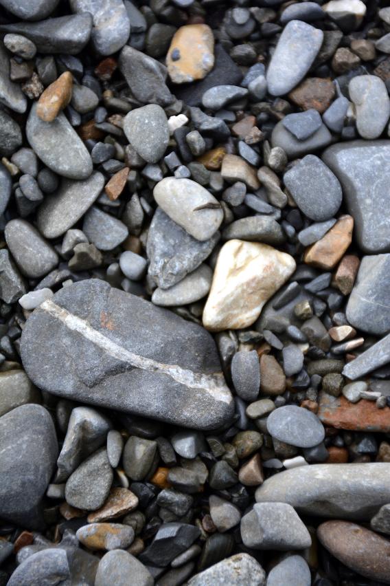 Alaska Rock Beach