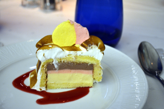 Blu Baked Alaska Dessert