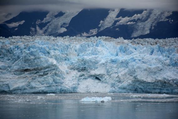 Blue Alaska Glacier September 2014