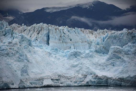 Blue Mist Hubbard Glacier Alaska