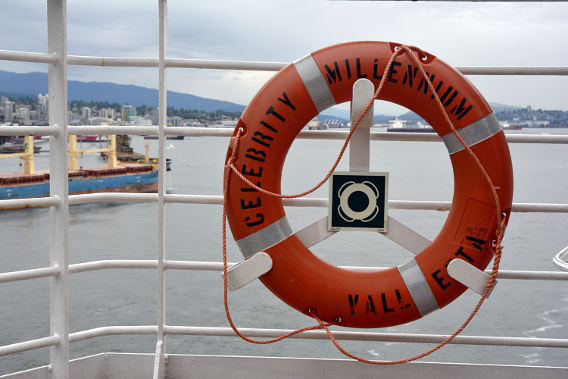 Celebrity Cruise Millenium Vancouver