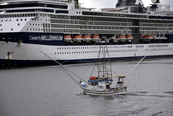 Celebrity Millennium Fishing Boat Alaska