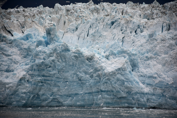 Close Up of Hubbard Glacier