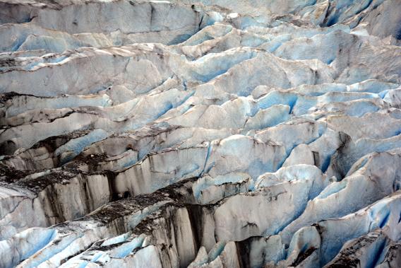 Herbert Glacier Ice Gorges