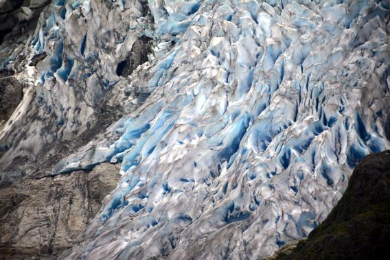Herbert Glacier Ridges