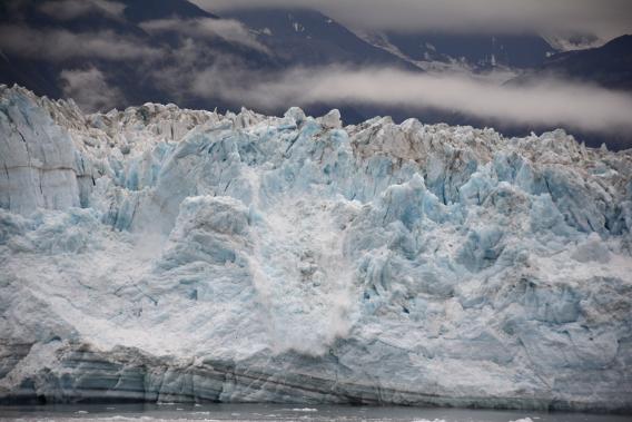 Hubbard Glacier Close Up September