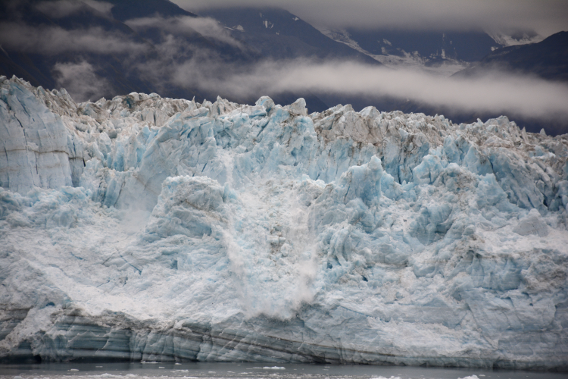 Hubbard Glacier Close Up September