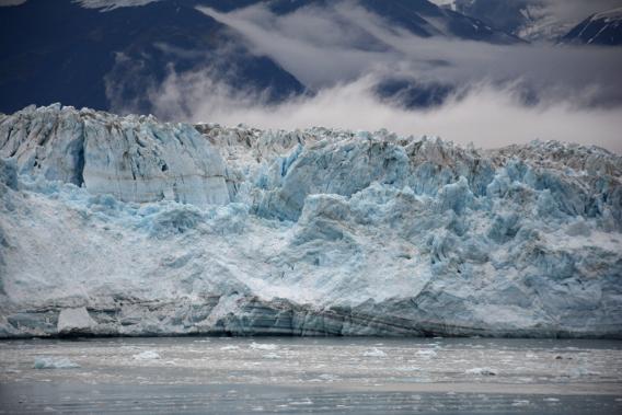 Hubbard Glacier Alaska Close