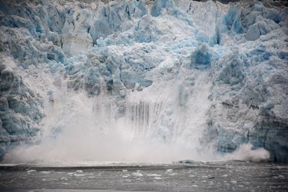 Hubbard Glacier September 2014 Calving
