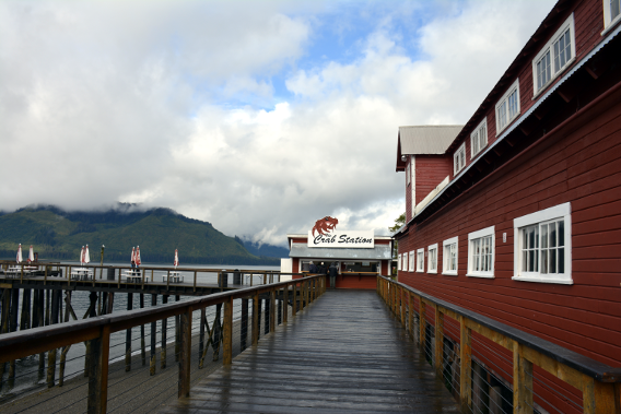 Icy Strait Point Crab Station