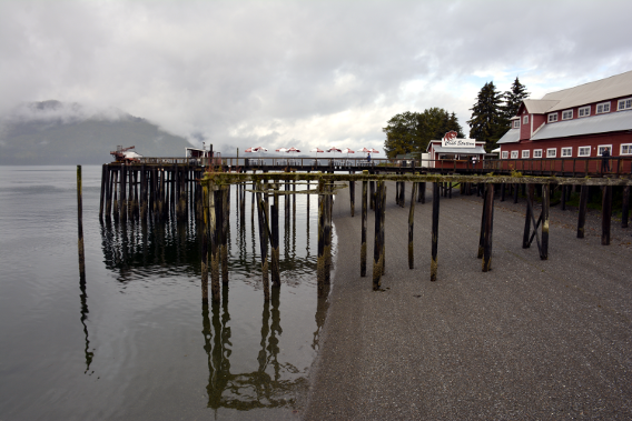 Icy Strait Point Dock