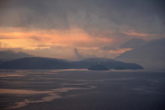Beautiful Inner Passage Sunrise