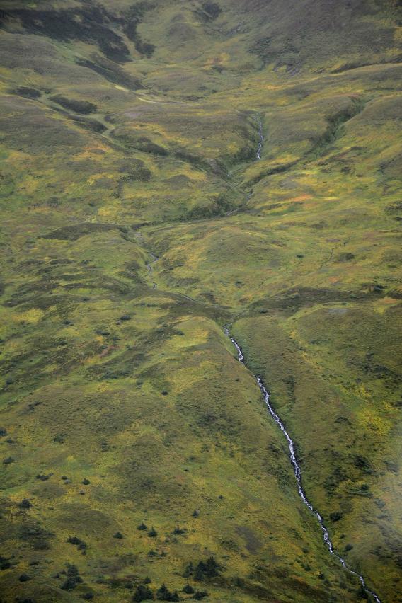 Juneau Mountain Valley