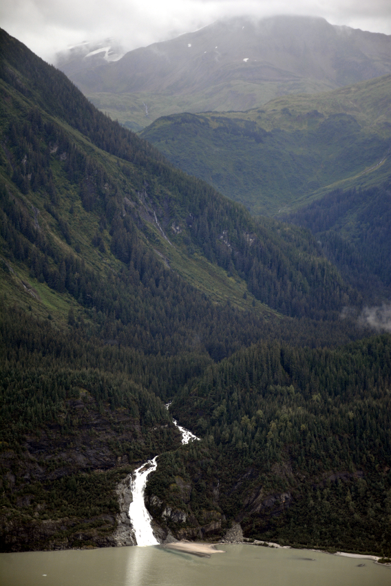Juneau Waterfall Temsco Helicopter
