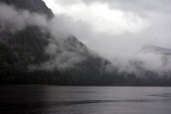 Lake Landing in Misty Fjords