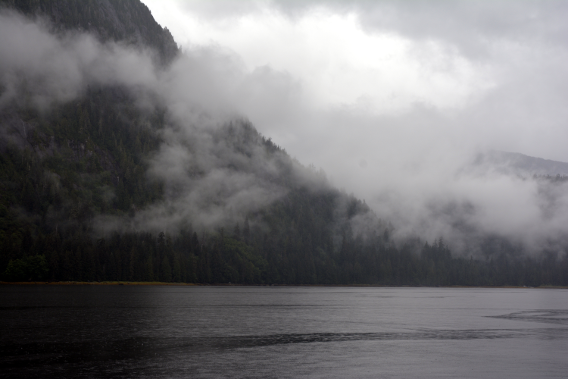 Lake Landing in Misty Fjords