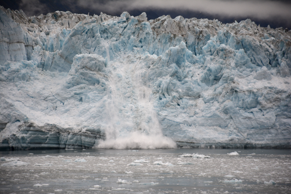 Major Hubbard Glacier Alaska Calving