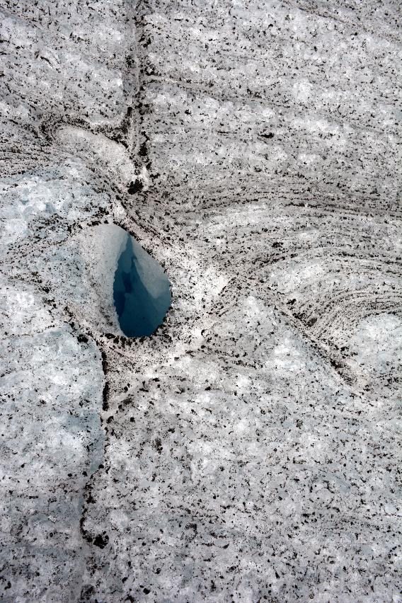 Mendenhall Glacier Hole