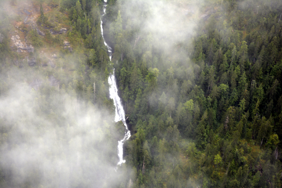 Misty Fjords National Park Waterfall