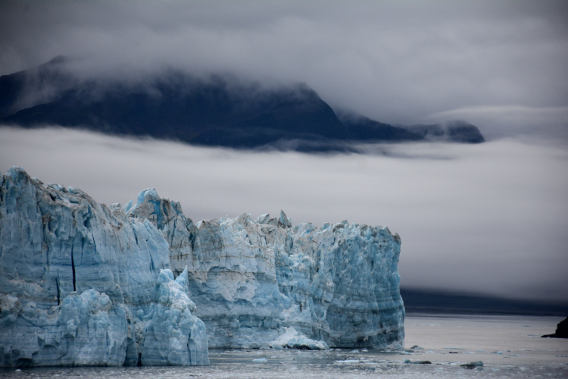 Misty Hubbard Glacier September 2014