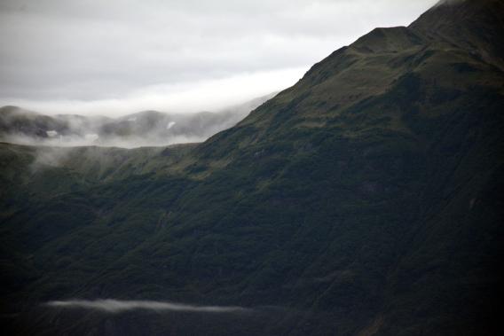 Misty Mountains Hubbard Glacier Cruise