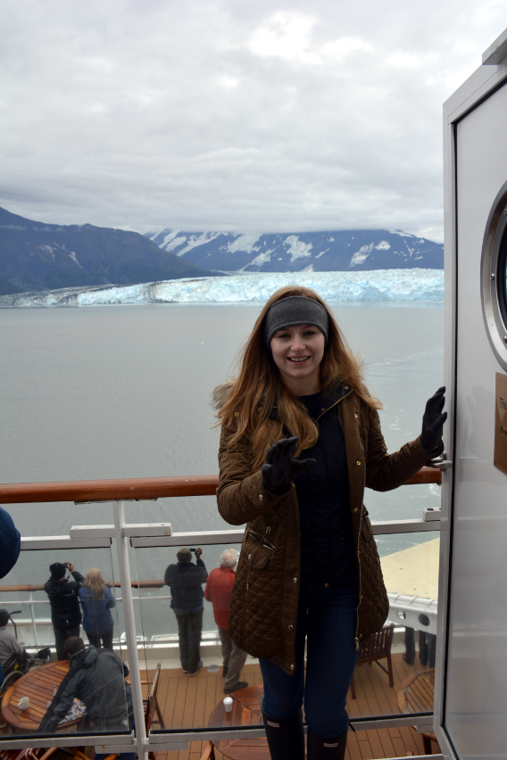 Sed Bona at the Hubbard Glacier