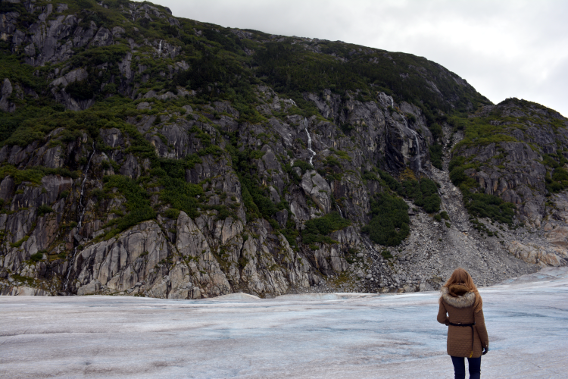Sed Bona on Herbert Glacier Alaska