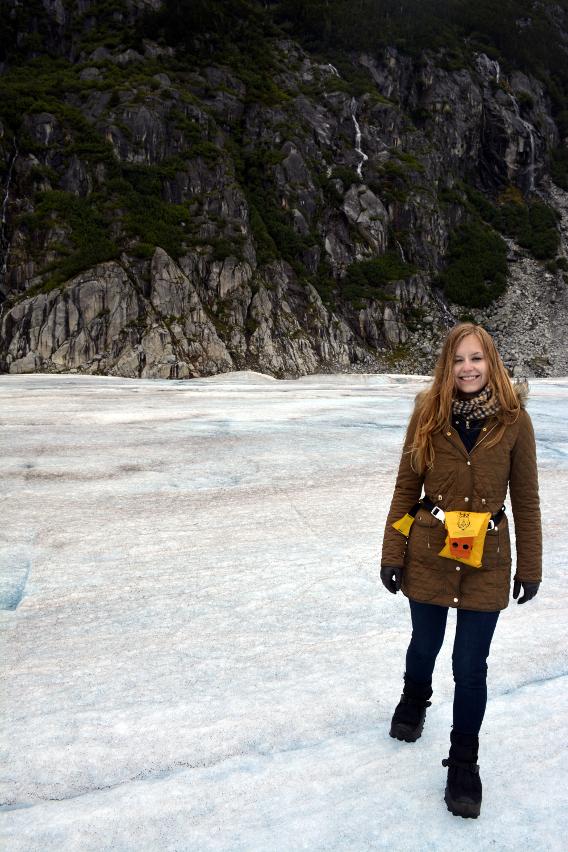 Sed Bona on Juneaus Herbert Glacier