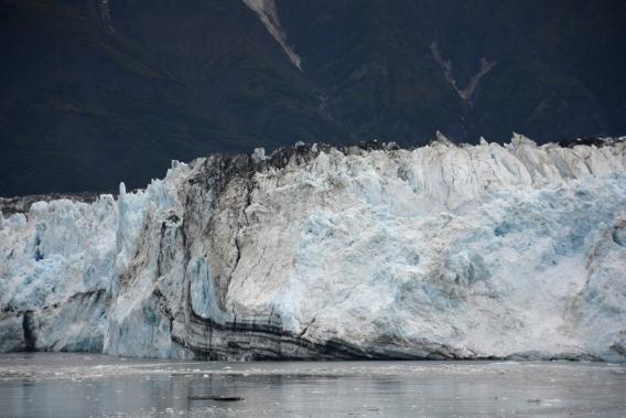 Soil Vein Hubbard Glacier
