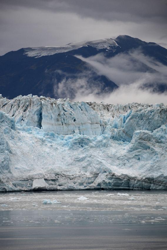 Vertical Hubbard Glacier