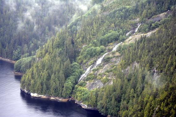 Waterfall in Ketchikan