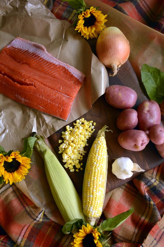 Salmon Chowder Soup Ingredients