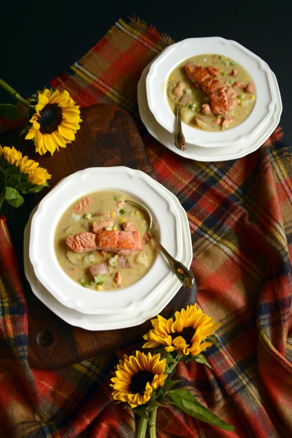 Sed Bona Salmon Chowder Recipe