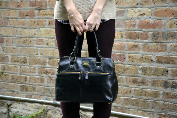 Burberry Brit Westbourne Jeans Elizabeth and James Plaid Top Modalu Pippa Black Bag