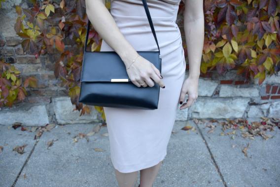Tiffany Rose Gold Jewelry H&M Black Purse