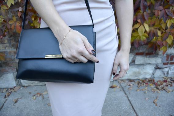 Tiffany Elsa Peretti Rose Gold H&M Purse
