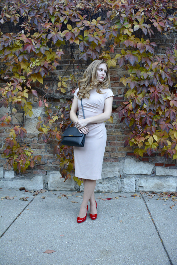 H&M Classic Black Purse LK Bennett Dress