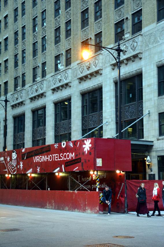 Virgin Hotels Chicago Construction