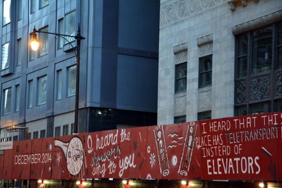 Virgin Hotels Rumors Street Art