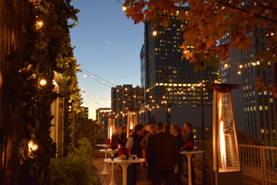 MCA Chicago Apartments Virgin Hotels Peep Show Dinner