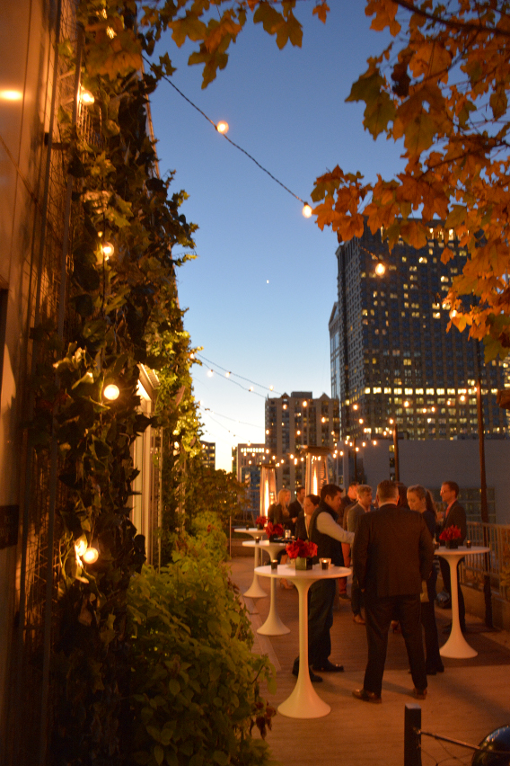 Virgin Hotels Peep Show October 2014 Rooftop Cocktails