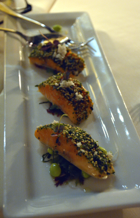 Virgin Hotels Chicago Nori Crusted Arctic Char