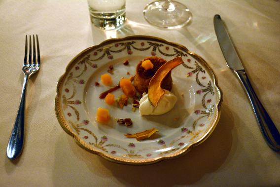 Virgin Hotels Spiced Pumpkin Cake