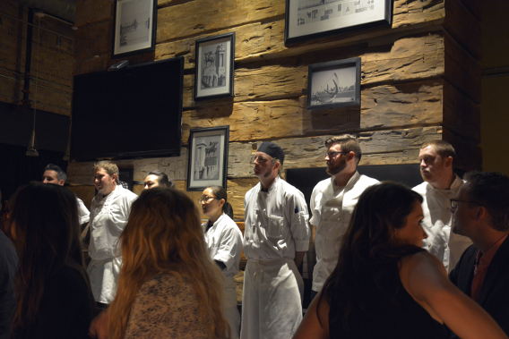 Virgin Hotels Chicago Peep Dinner Executive Chef Rick Gresh