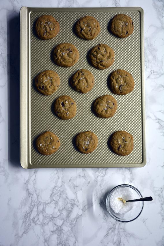 Maldon Sea Salt Flakes Chocolate Chip Cookie Recipe